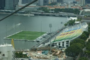 Singapore's Marina Bay Floating Stadium